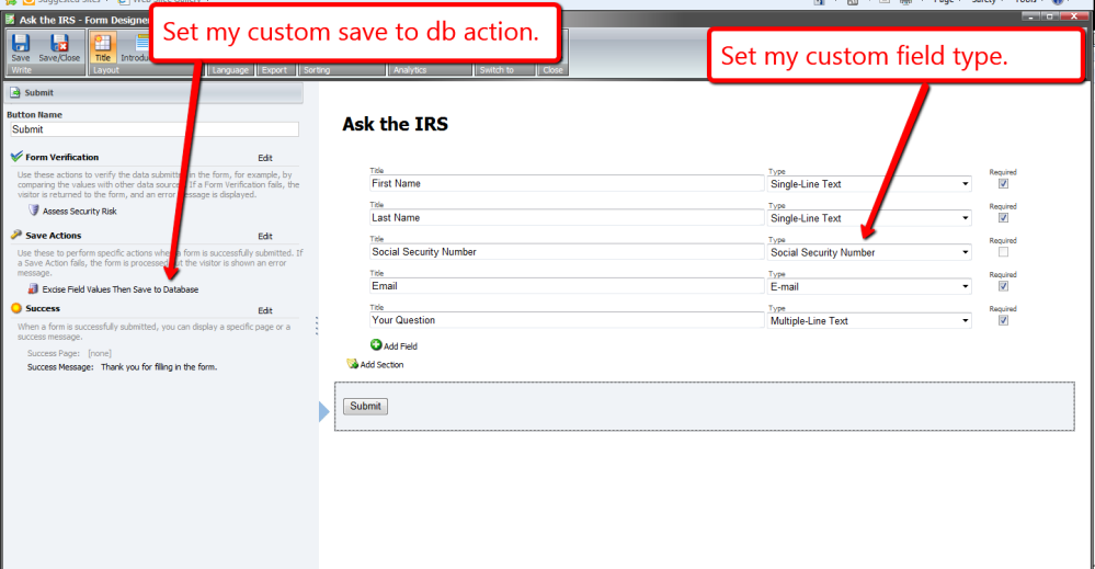 Rip Out Sitecore Web Forms for Marketers Field Values During a Custom Save Action (3/5)