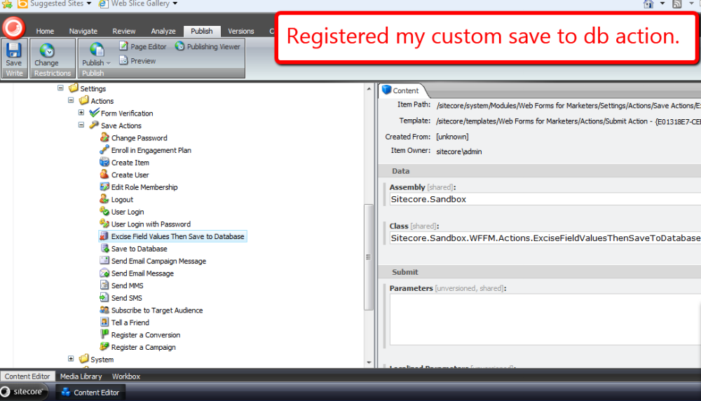 Rip Out Sitecore Web Forms for Marketers Field Values During a Custom Save Action (2/5)