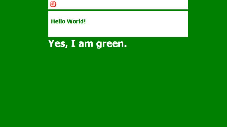 green-theme-page
