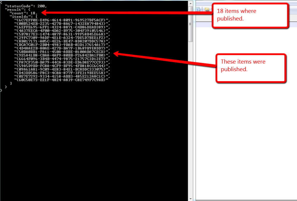 Publish Items With the Sitecore Item Web API Using a Custom ResolveAction itemWebApiRequest Pipeline Processor (3/4)