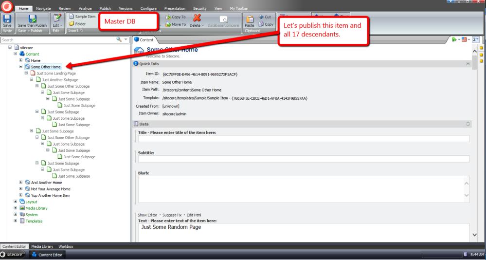 Publish Items With the Sitecore Item Web API Using a Custom ResolveAction itemWebApiRequest Pipeline Processor (1/4)