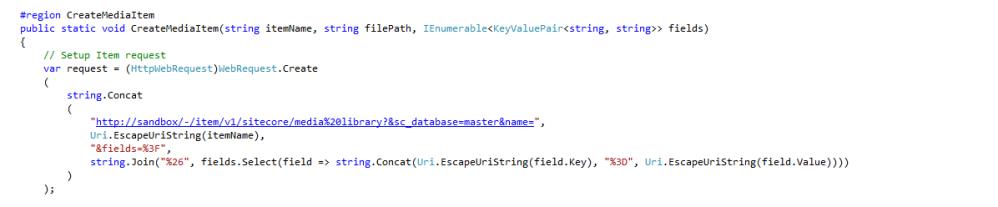 Set New Media Library Item Fields Via the Sitecore Item Web API (2/5)