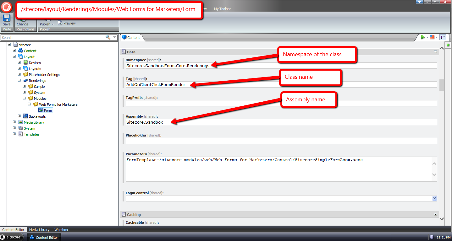 Add JavaScript to the Client OnClick Event of the Sitecore WFFM ...