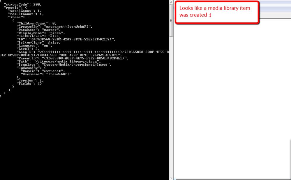 Set New Media Library Item Fields Via the Sitecore Item Web API (4/5)