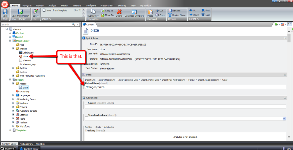 Resolve Media Library Items Linked in Sitecore Aliases (2/3)
