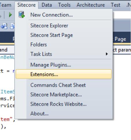 sitecore-rocks-extensions-menu-option