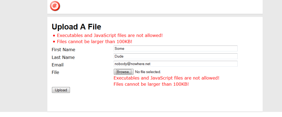 big-exe-wffm-upload-errormessage