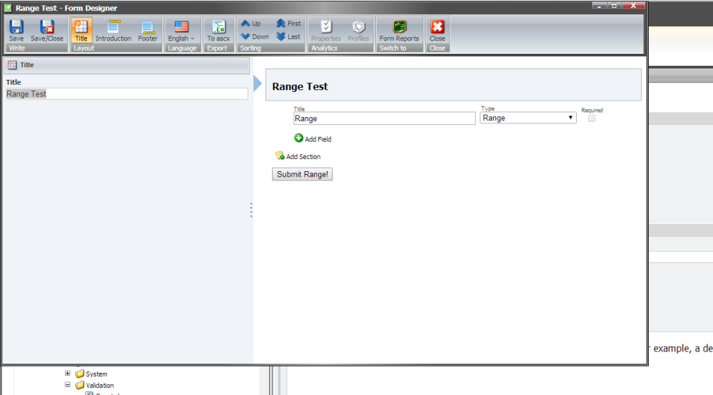 Add the HTML5 Range Input Control into Web Forms for Marketers in Sitecore (3/6)