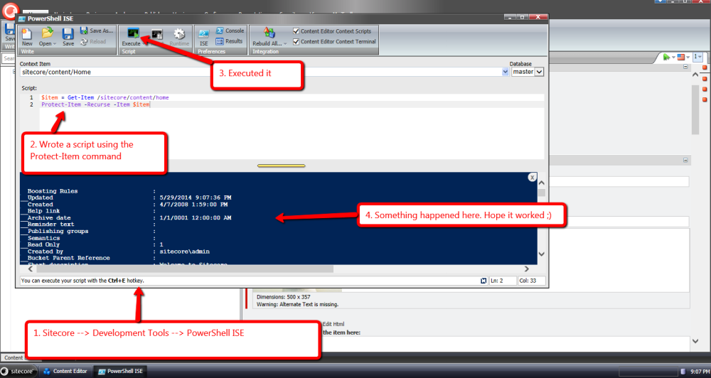 Build a Custom Command in Sitecore PowerShell Extensions (3/6)