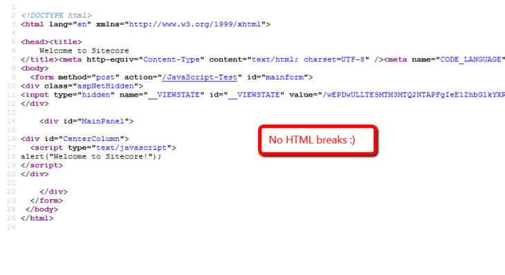javascript-no-html-breaks
