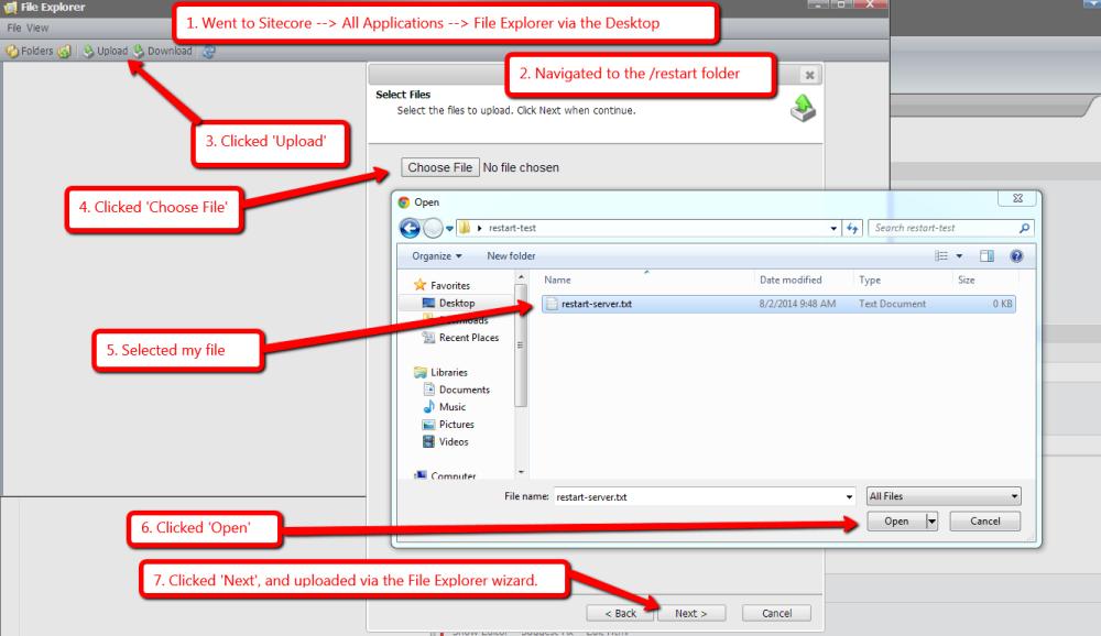 Restart the Sitecore Server Using a Custom FileWatcher (1/2)